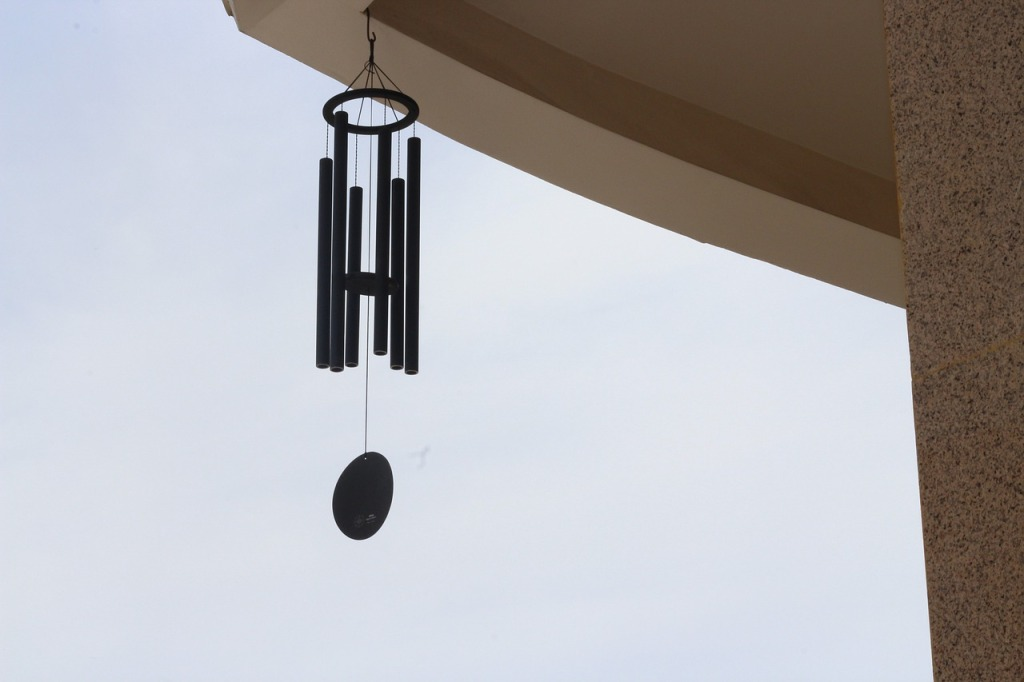 wind chime sound bath